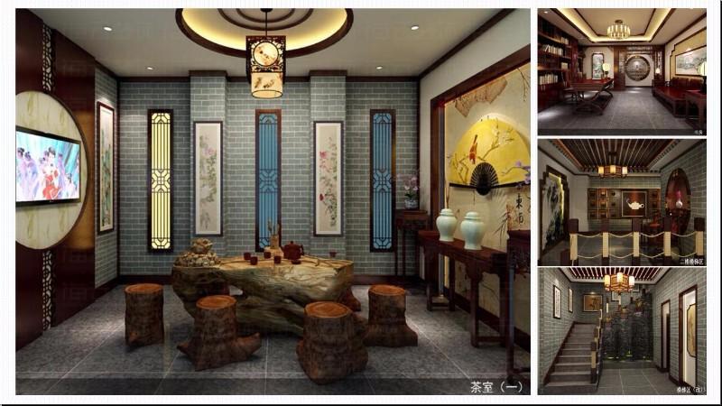 茶楼装饰元素成都公装公司_成都幼儿园装修设计_成都