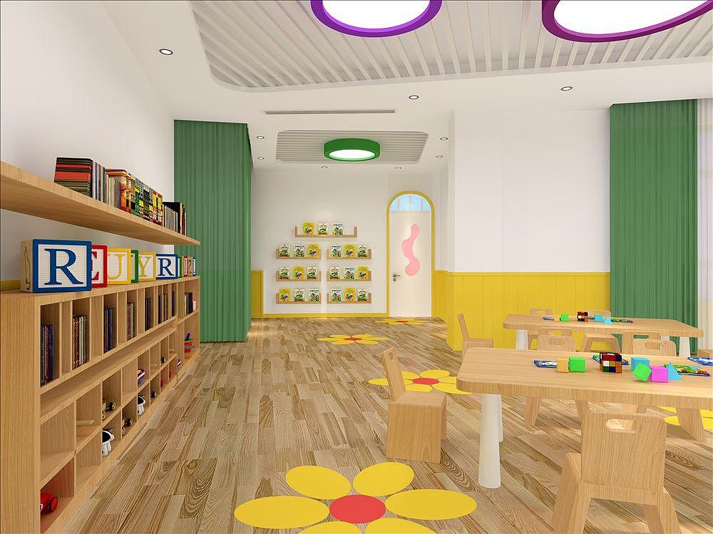 高端幼儿园非常注重幼儿园大厅设计,就是所谓的面子工程,酒店式的大堂是当今许多现代化幼儿园的基本特色,是幼儿园服务接待意识的表现。 家长一站式服务,就在接待大厅里面完成咨询、报名、缴费等所有手续,是高品质服务的表现。很多的家长在选择孩子的幼儿园时就是凭着大厅的第一眼印象就选定了孩子的学校。所以,幼儿园设计过程中一定要想法设计一个尽可能大气的接待大厅或者专用家长接待室。这个大厅,设计面积尽可能大一点,当然要根据实际情况考虑;它的功能,可以体现在两个方面: 一是承担传统的咨询、报名、收费、家长接待、相关部门领导